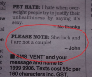 lol, sherlock holmes, and text image