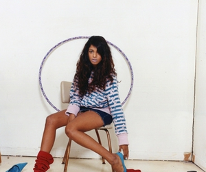 blue shoes, m.i.a, and tamil image