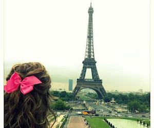 paris and girl image
