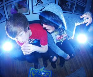 boy, light, and guy image