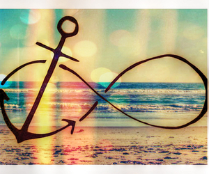 anchor, beach, and heart image