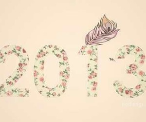 2013, new year, and flowers image