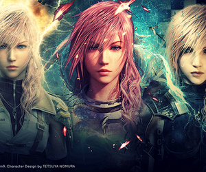 final fantasy xiii, ffxiii, and lightning farron image