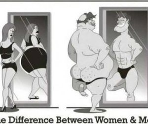 funny, men, and women image