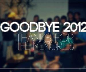 2013, 2012, and memories image