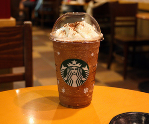 starbucks, photography, and coffee image