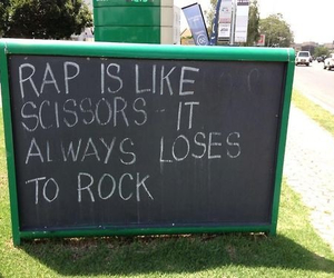 rock, rap, and music image