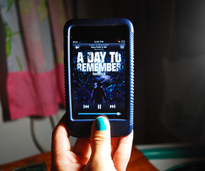 a day to remember and ipod image