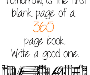 book, 365, and new year image