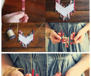 diy, tutorial, and necklace image