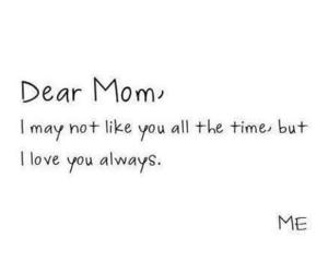 mom, love, and quote image