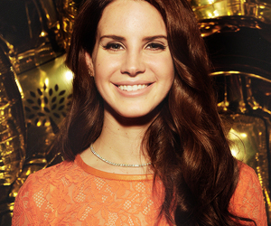 lana del rey and smile image