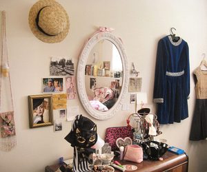 mirror, photography, and clothes image