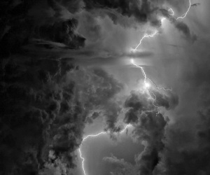 b & w, storm, and black & white image