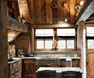 kitchen and cabin image