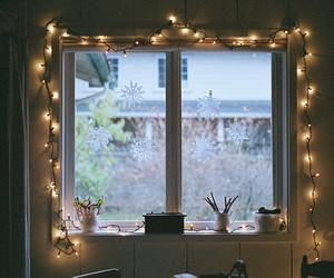 light, window, and room image