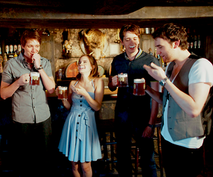 harry potter, butterbeer, and cute image