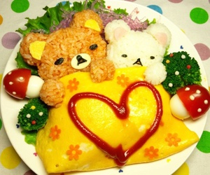 bears, food, and kawaii image