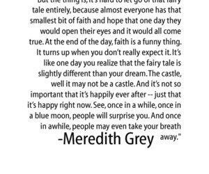 dark, fairy tale, and meredith grey image