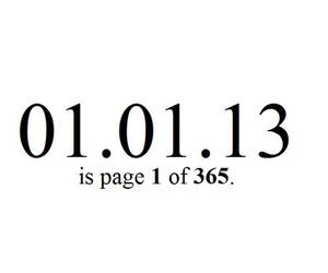 2013, quote, and new year image