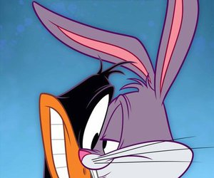 looney tunes and bugs and daffy image
