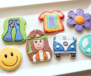 cookie, piping, and decorating image