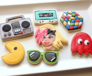 cookie, eighties, and piping image