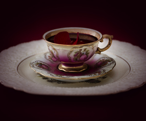 blood, cup, and elegant image