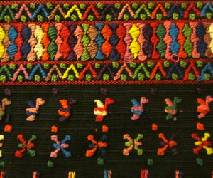 embroidery and guatemalan image
