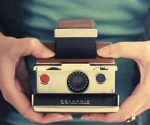 polaroid, camera, and vintage image