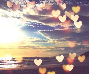 love, hearts, and summer image