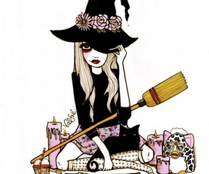 witch, valfre, and teen image