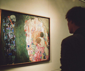 art, boy, and klimt image