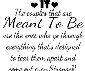 meant to be, quotes, and relationships image