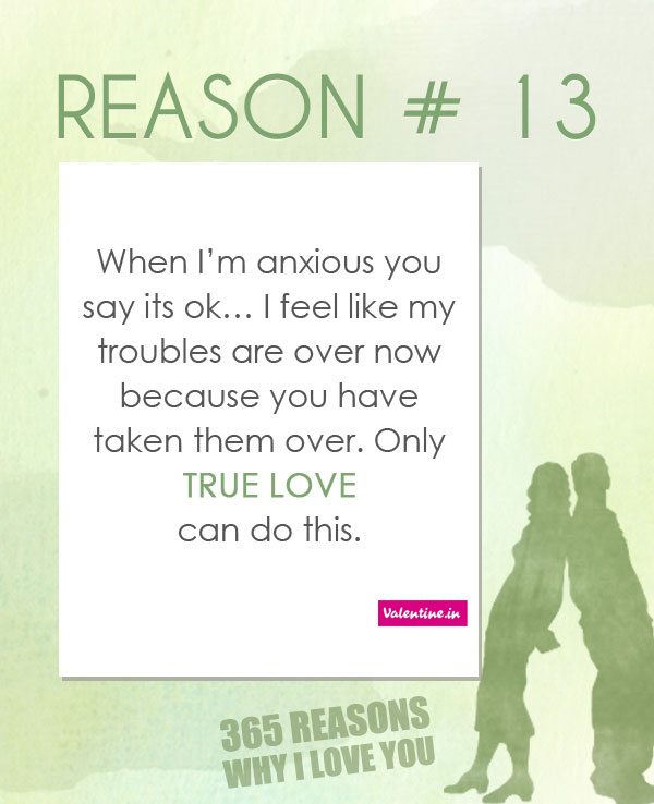 Reasons Why I Love You 13 On We Heart It