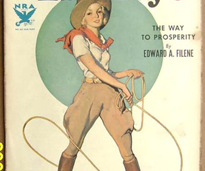 Cowgirl, liberty, and vintage image