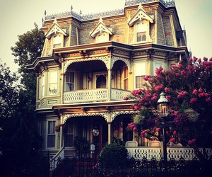 house, architecture, and victorian image