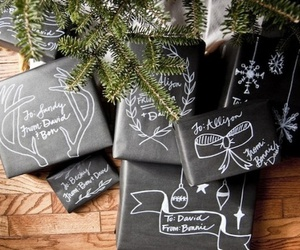 christmas, tree, and presents image