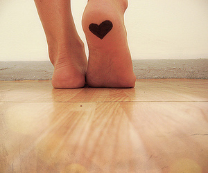 heart and feet image