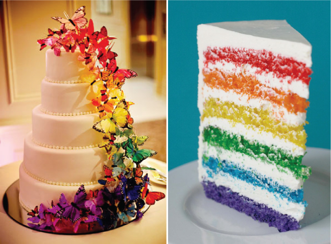 Rainbow Wedding Theme Tips For Adding Color To Your Big Day