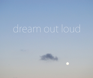 Dream, moon, and sky image