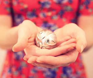 harry potter, photography, and golden snitch image