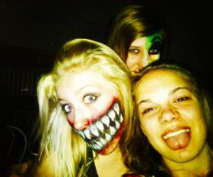 face paint, laugh, and smile image