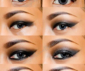 girl, makeup, and how to image