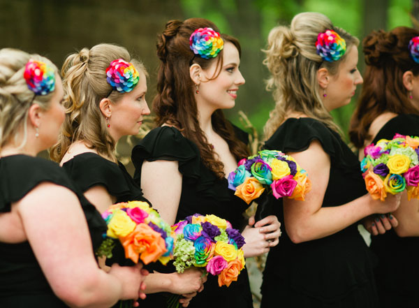 Rainbow Wedding Theme Tips For Adding Color To Your Day Kenyan Myharusi