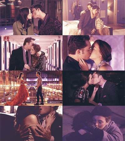 Blair Waldorf and Chuck Bass