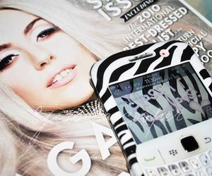 Lady gaga and blackberry image