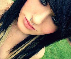 blue eyes, alternative, and beautiful image