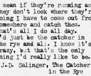 quote, book, and the catcher in the rye image