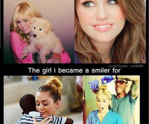 miley, miley cyrus, and smiler image